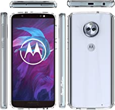 Bear Motion for Moto G7 Play with Shockproof TPU Bumper and Scratch Proof PC Back Cover (Clear, Moto G7 Play)
