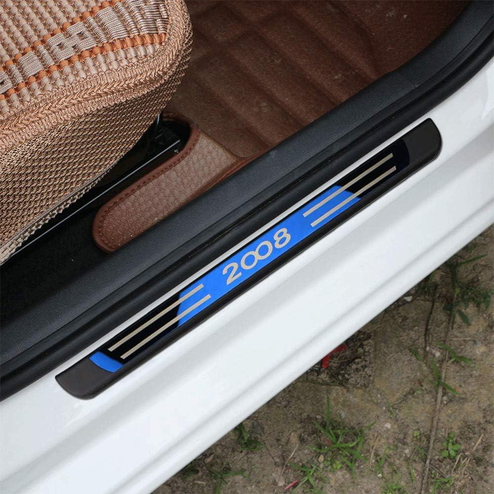 per Jeep Renegade 2015-2020 Auto Pedale Calci Scuff Benvenuto Threshold Bar Striscia Protezione Accessori Decorativi Acciaio Inossidabile N//A 4 Pezzi Soglia Porta Battitacco