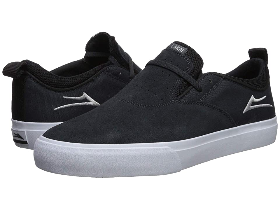 Lakai Riley Hawk 2 (Charcoal Suede) Men