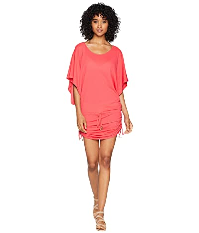 Luli Fama Cosita Buena South Beach Dress Cover-Up (Bombshell Red) Women