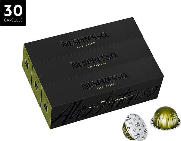 Nespresso VertuoLine Alto XL Intenso Bold Costa Rican 30 Capsules