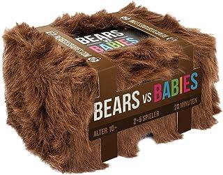 Asmodee Bears vs Babies, partyspel, kortspel, tyska