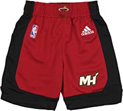 Miami Heat Red Youth 8-20 Alternate Replica Performance Shorts