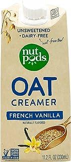 NUTPODS French Vanilla Oat Creamer, 11.2 FZ