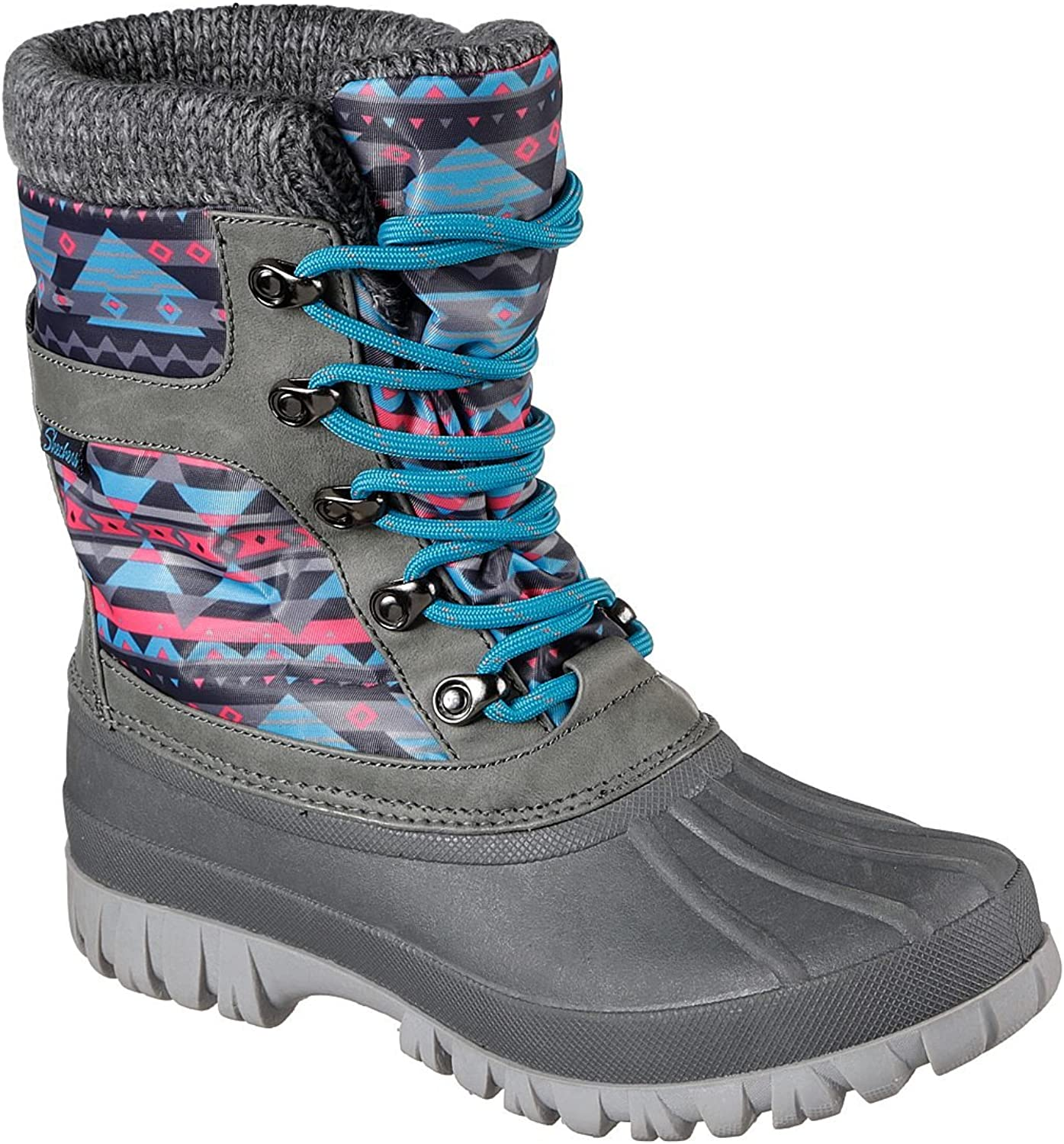 Skechers Windom - Riverfest Boot Charcoal