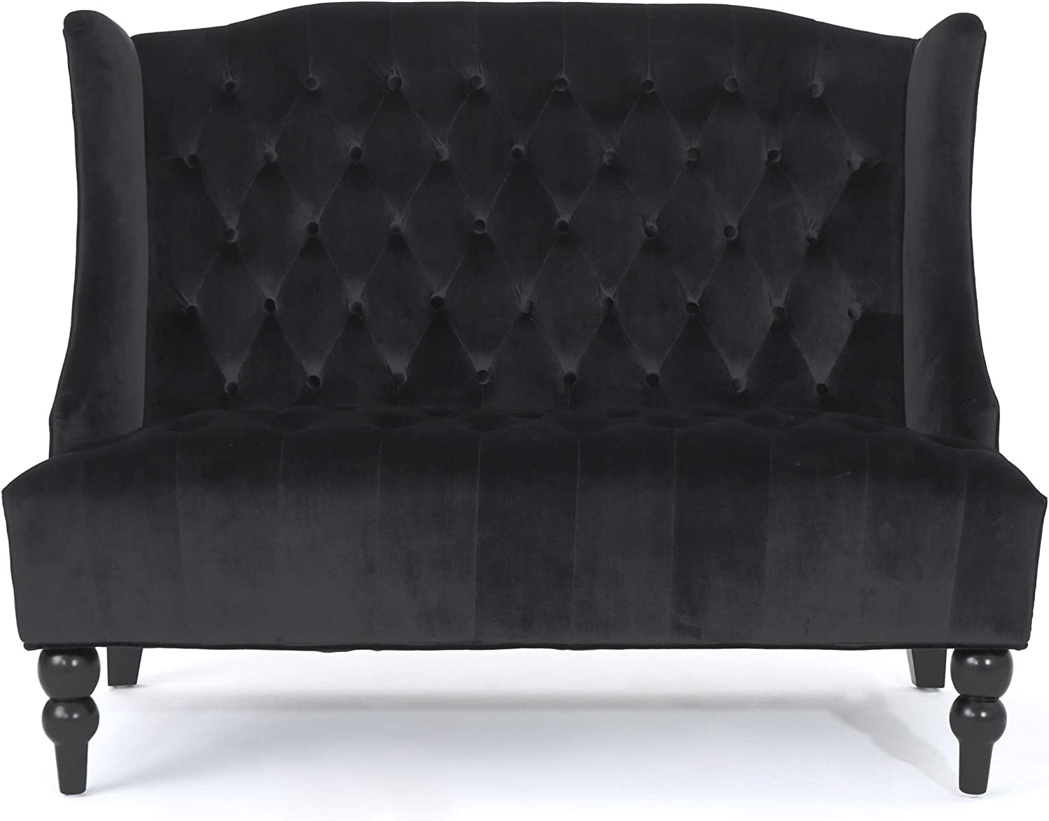 Special price Christopher Knight Home Leora Modern Wingback Max 60% OFF Glam Velvet Tufted
