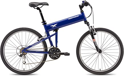 featured product Montague Paratrooper Express Folding Bike, Air Force Blue (18.0)