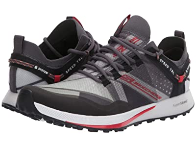 SKECHERS Go Run Speed Trail (Charcoal/Red) Shoes