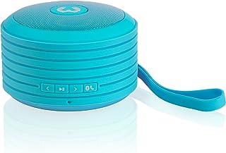Fresh 'n Rebel RockBox Portable Bluetooth Speaker, Round, Blue