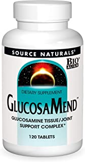 Source Naturals GlucosaMend - Glucosamine Tissue, Joint Support Complex Dietary Supplement - 120 Tablets