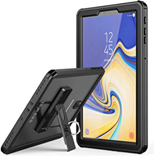 Samsung Galaxy Tab S4 Waterproof Case, Temdan IPX8 Waterproof case with Built-in Screen Full-Body Kickstand Rugged Protective Case for Galaxy Tab S4 10.5 inch 2018 (SM-T830/T835/T837) (Black)
