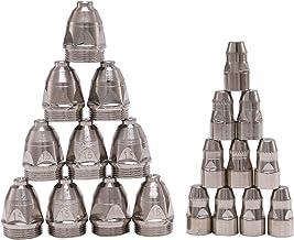 DealMux 20 stuks P80 plasma-snijbranders, verbruiksmaterialen, CNC-snit 80A P80 elektrodenmondstuk voor plasma-snijden