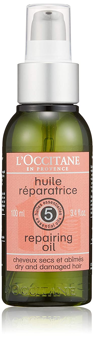 謎名詞積極的にロクシタン(L'OCCITANE) ファイブハーブス リペアリングヘアオイル 100ml