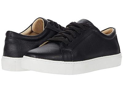 Massimo Matteo Oxford Sneaker (Black Leather) Women