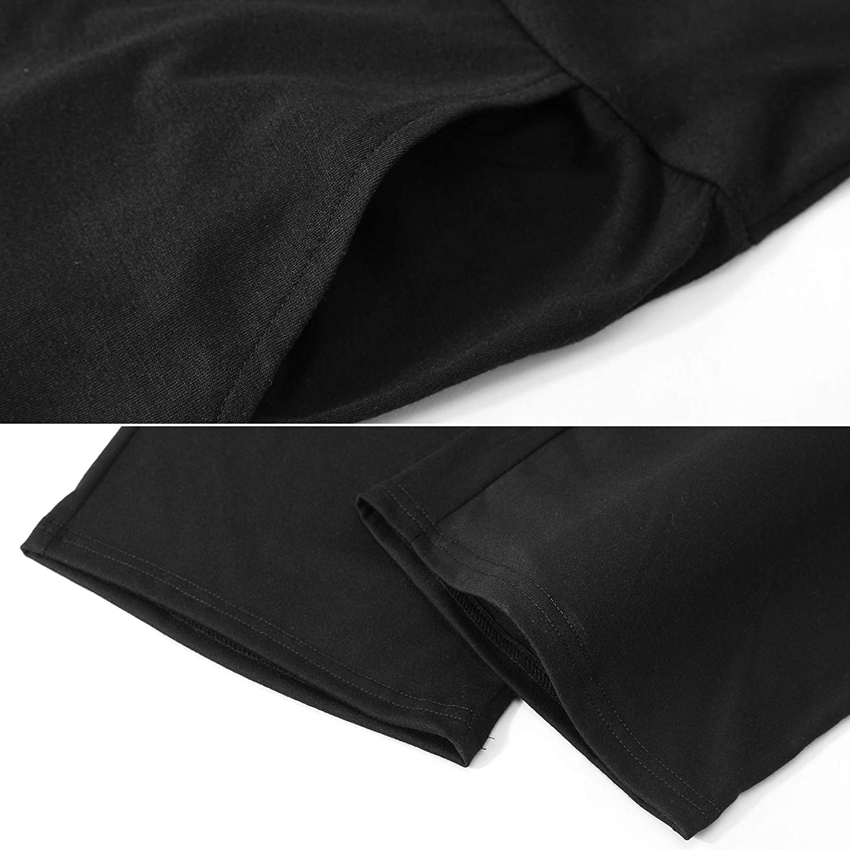 SWEETBUMP Maternity Pajama Capri Pants Lounge Pants with Pockets High Waist Sleepwear Nightwear Soft Pjs