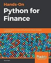 Best python finance book Reviews