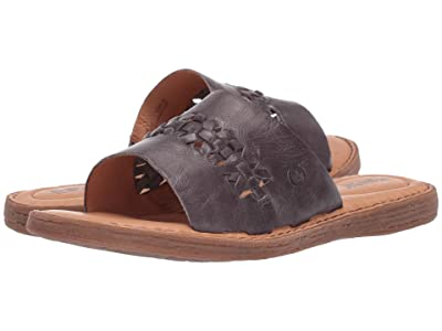 Born St. Francis (Grey Full Grain Leather) Women