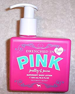 Victoria's Secret Pink Drenched in Pink Supersoft Body Lotion in Pretty & Pure by Victoria's Secret
