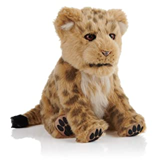WowWee Alive - Interactive Companion Pet - Playful Brown Lion Cub Baby - Plush Cuddly for Young and Old