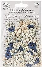 Georgia Blues Mulberry Paper Flowers 120/pkg-turner