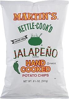 Martin's Kettle-Cook'd Potato Chips Jalapeno- 8.5 Oz (3 Bags)