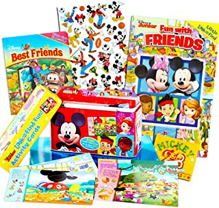 Disney My First Look and Find Books Set Kids Toddlers ~ 2 Books and 100 Cards with Stickers Bundle (Mickey Mouse, Minnie Mouse and More!)