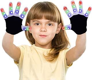 custom led gloves