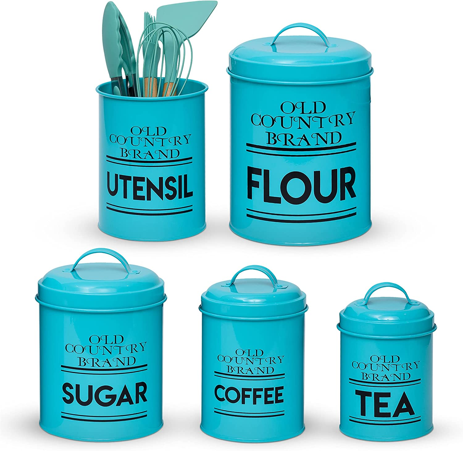 Farmhouse Kitchen Canisters – with Nesting Uten Canister Las Vegas Mall Los Angeles Mall