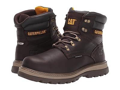 Caterpillar 6 Fairbanks WP (Mulch Full Grain Leather) Men