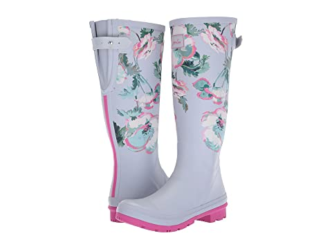 Joules Tall Welly Print Rain Boots