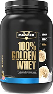 Maxler 100% Golden Whey Protein - 25g of Premium Whey Protein Powder per Serving - Pre, Post & Intra Workout - Fast-Absorb...