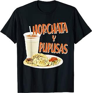 Horchata y Pupusas Gift Camisa El Salvador T-Shirt