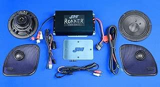 JM Audio Rokker Extreme 2 Speaker and 350 Watt Amplifier Kit for 2015 and Newer Harley-Davidson Road Glide models - XXRK-350SP2-15RG