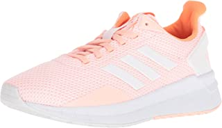 adidas Women's Questar Ride W Running Shoe, Haze Coral/White/Hi-Res Orange