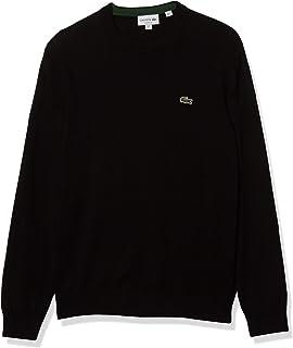 Men's Long Sleeve Crewneck Cotton Jersey Sweater