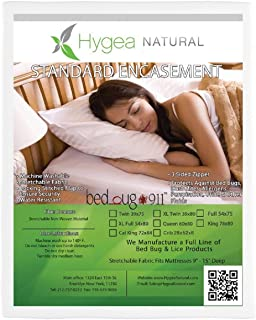 Bed Bug Water Resistant Mattress Protector   Non Woven   California King Size by Hygea Natural
