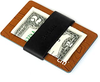Band Joes Pocket Slim Wallet Vertical Durable Silicone Broccoli Band for Cards, License, Cash