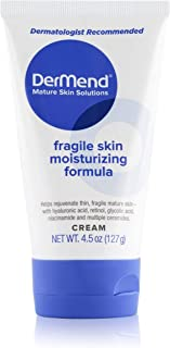 DerMend Specialized Fragile Skin Moisturizing Cream: Formula to Restore & Rejuvenate Mature Skin - Daily Moisturizer & Ant...
