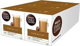 Nescafé Dolce Gusto - Café con leche, pack de 6, 6 x 16 cápsulas
