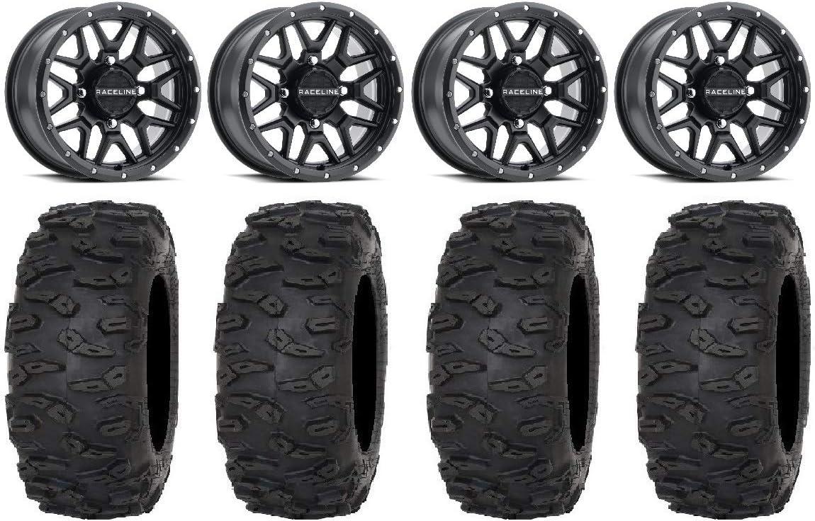 Super sale Bundle - 9 Items: Raceline Krank gift Wheels Black 32