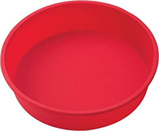 Mrs. Anderson's Baking 43632 9-Inch Round Cake Pan, Non-Stick European-Grade Silicone