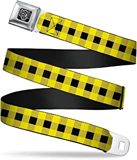1.0 Wide THIS WILD LIFE Butterfly Black//White Buckle-Down Seatbelt Belt 20-36 Inches in Length