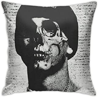 Eminem Hold Pillow Covers Cases Double-Sided Printed Pillowcase Car Cushion with Hidden Zipper for Couch Bed Sofa Home Interior Decoration One Size