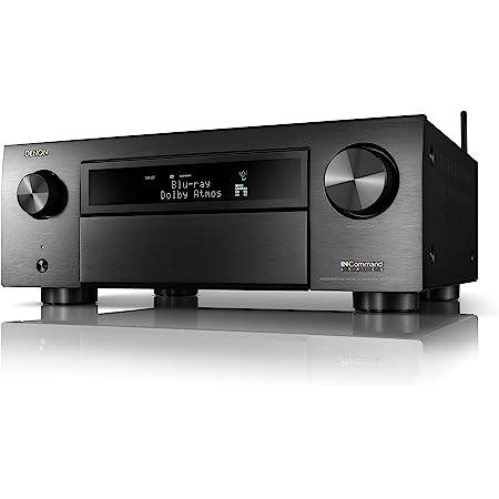Denon(デノン) AVR-X6700H 8K Ultra HD 11.2チャンネル 140W×11 AVレシーバー2020モデル 3Dオーディオ&動画 IMAX Enhanced搭載 ゲーム/音楽ストリーミング/Alexa/HEOSに