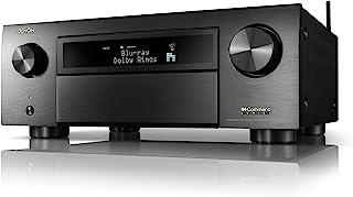 Denon AVR-X6700H 8K Ultra HD 11.2 Channel (140Watt X 11) AV Receiver 2020 Model - 3D Audio & Video with IMAX Enhanced, Bui...