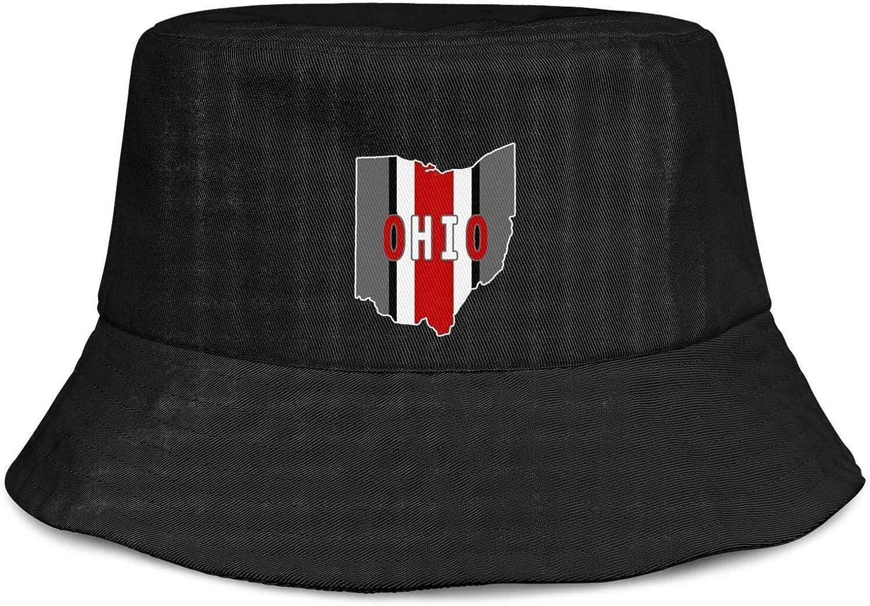 UNISEXCAPAA Summer Bucket Hats Outdoor Fisherman Trendy Beach Sun Visor Hat Funny Cap