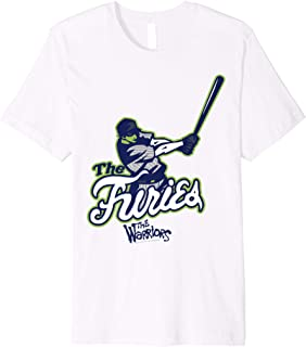 The Warriors The Furies Baseball Team Logo Premium T-Shirt