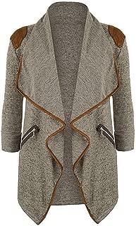 Tsmile Autumn Winter Womens Cardigan Jacket Plus Size Long Sleeve Open Front Casual Blazer Outwear