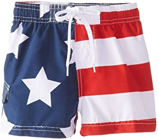 Baby Boys' American Flag Swim Trunk