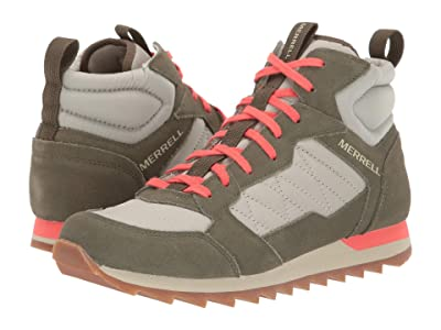 Merrell Alpine Sneaker Mid (Sage/Olive) Women